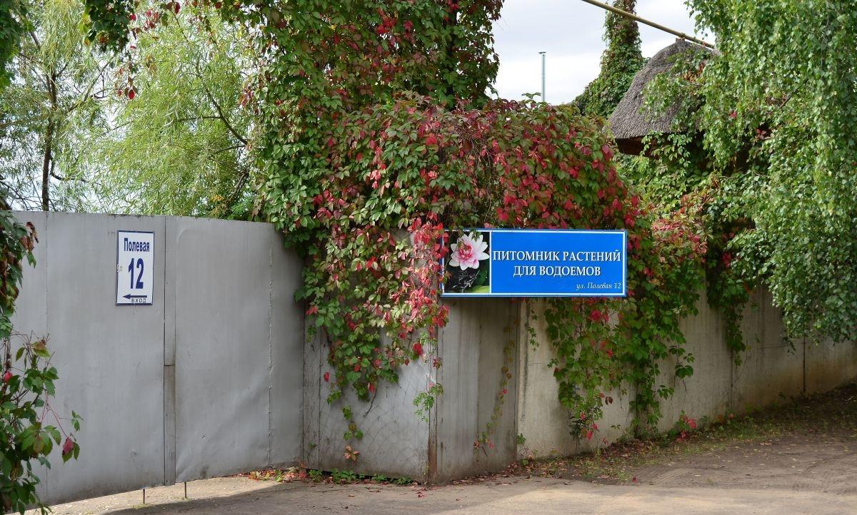 Парк водных растений