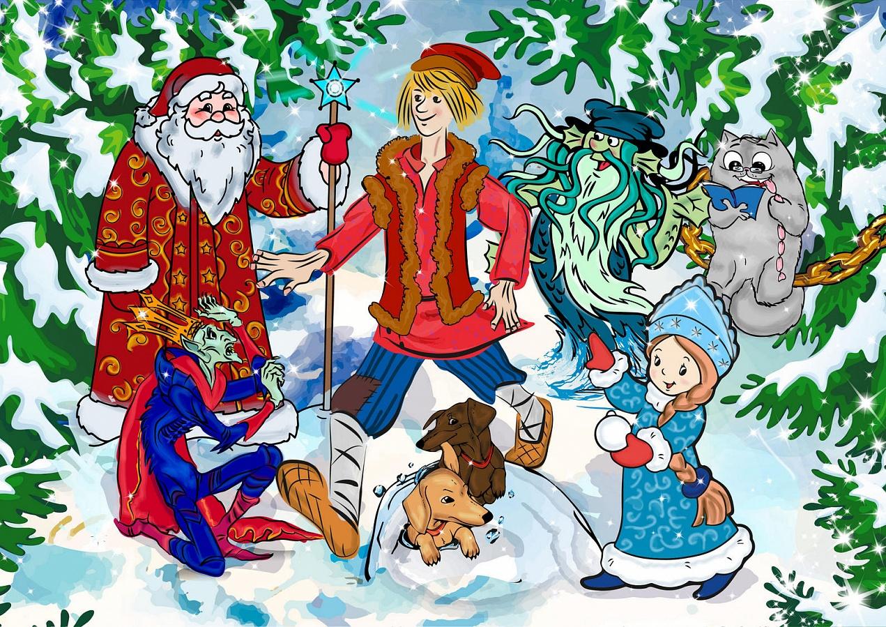 «Елка у Чеховых, или как Иван-дурак Новый год спас» в Мелихове