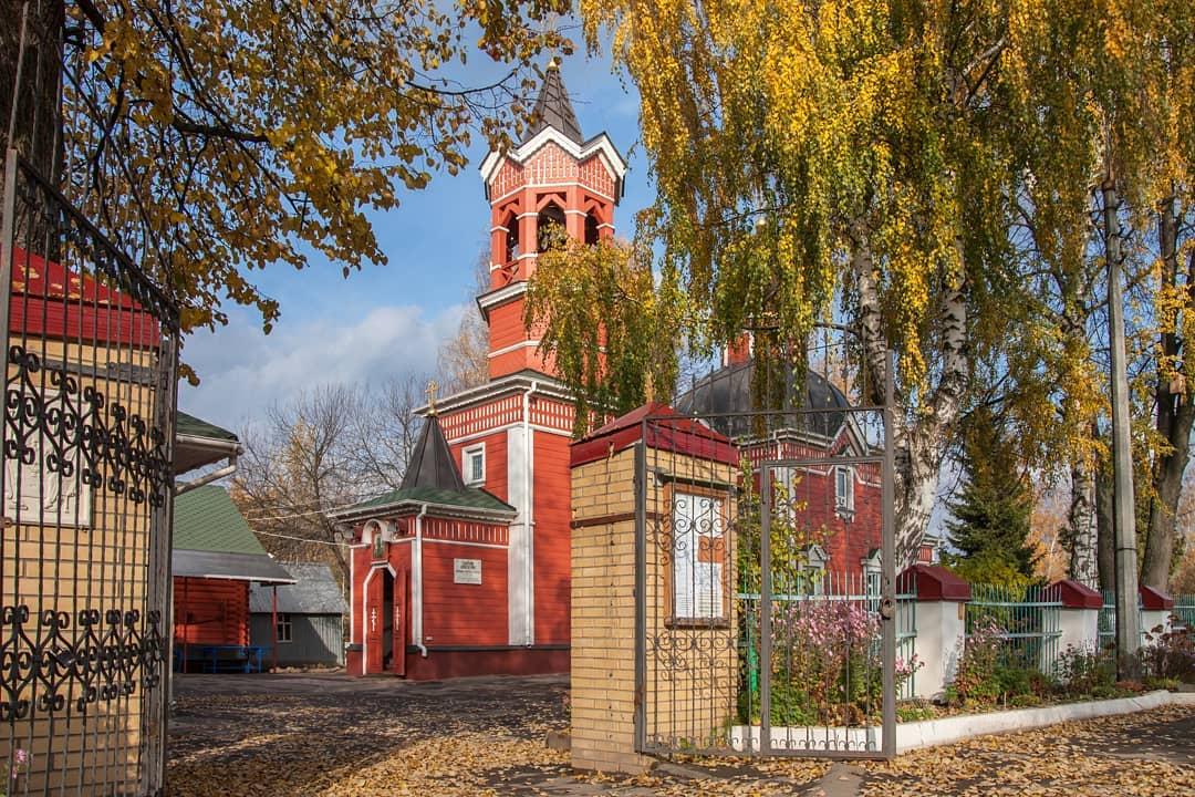 Храм Георгия Победоносца в деревне Новоселки