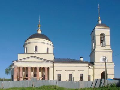 Церковь Рождества Пресвятой Богородицы в селе Вороново