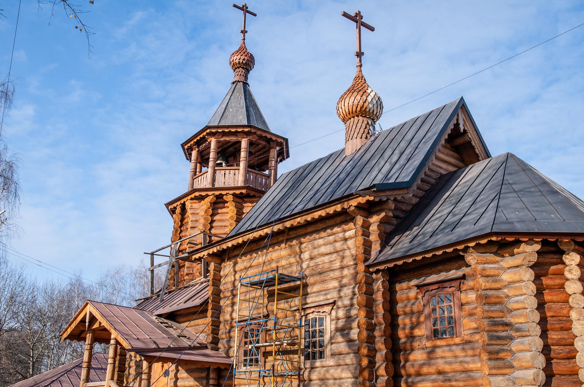 Электрогорск, Храм Всех Святых в земле Российской просиявших