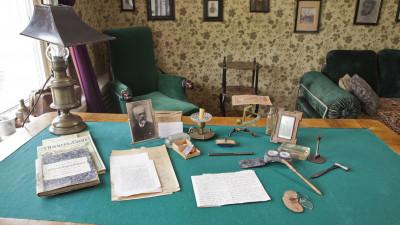 Кабинет Чехова в музее-заповеднике А.П. Чехова «Мелихово».