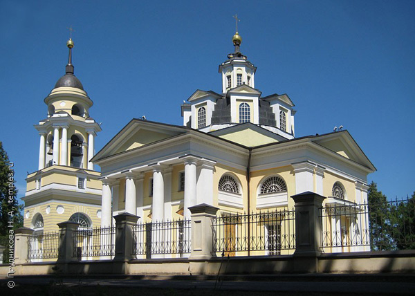 Церковь Николая Чудотворца в селе Николо-Прозорово