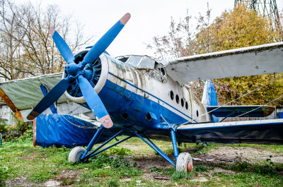 Лобня, Научный городок, самолёт АН-2