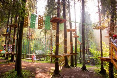 Парк приключений в Хотьково