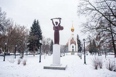 Балашиха, площадь Славы, мемориал ВОВ