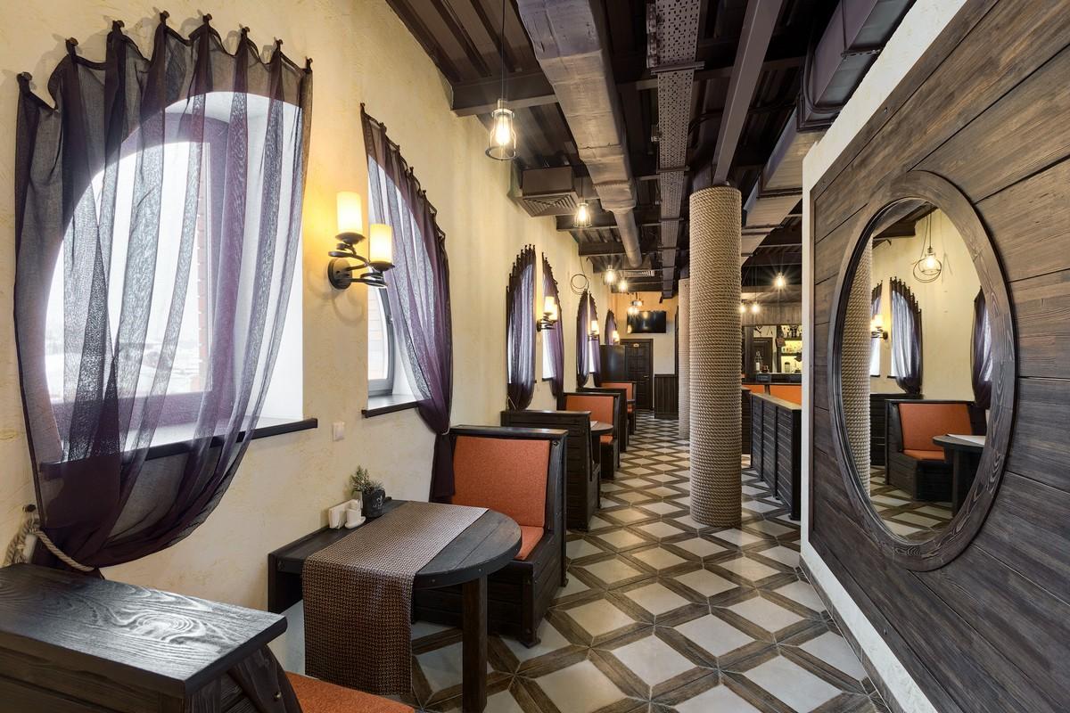 Гостиница «Паровоз» в загородном клубе «Личи»