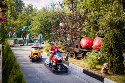 Парк развлечений «Чайлэнд» в Мытищах