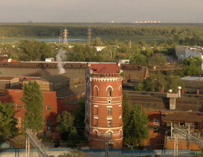Водонапорная башня в Мытищах