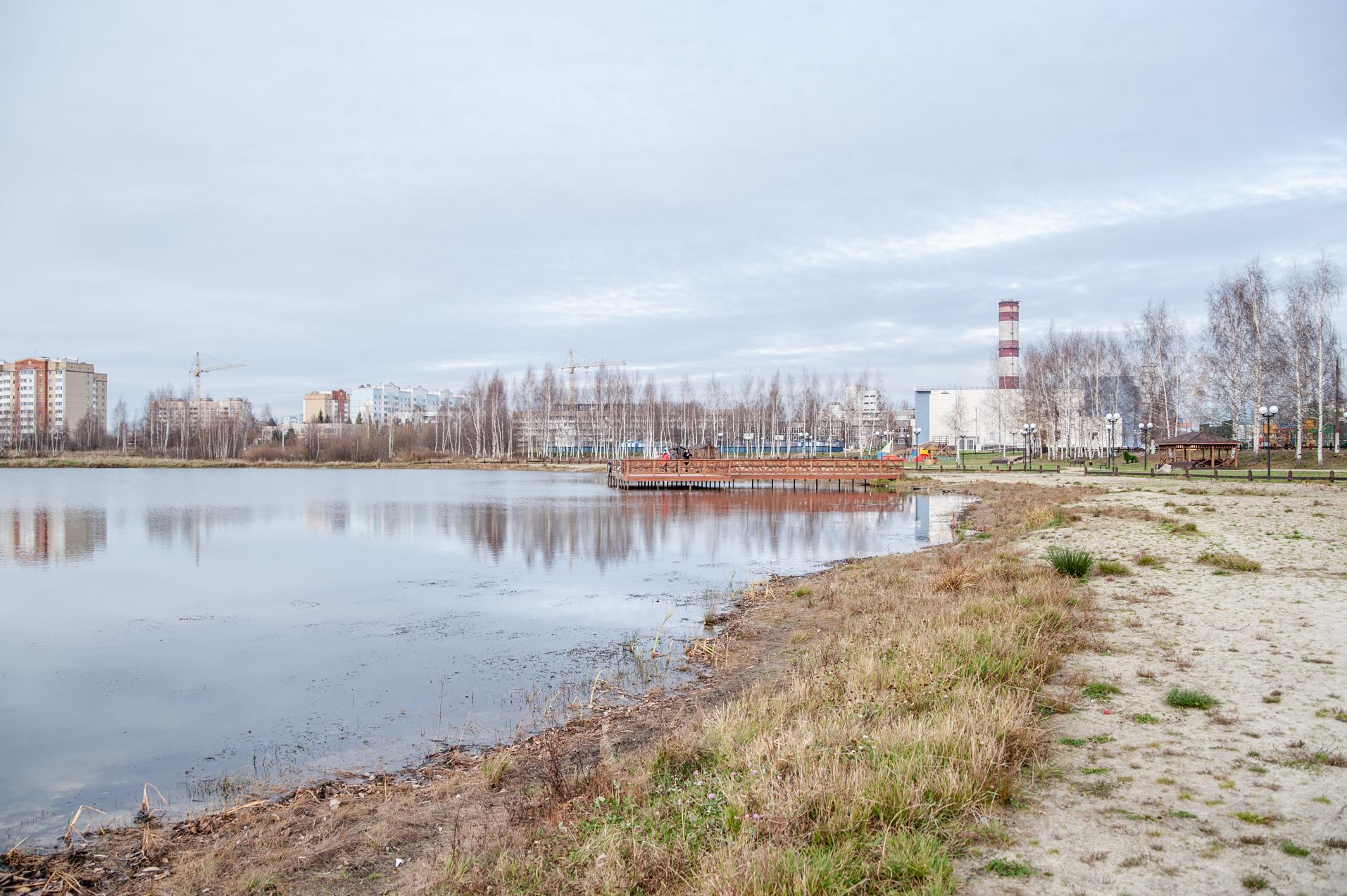 Электрогорск, озеро Стахановское