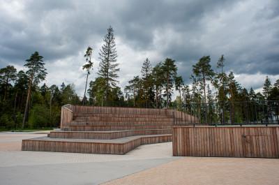 Железнодорожный, ПКиО Пестовский парк