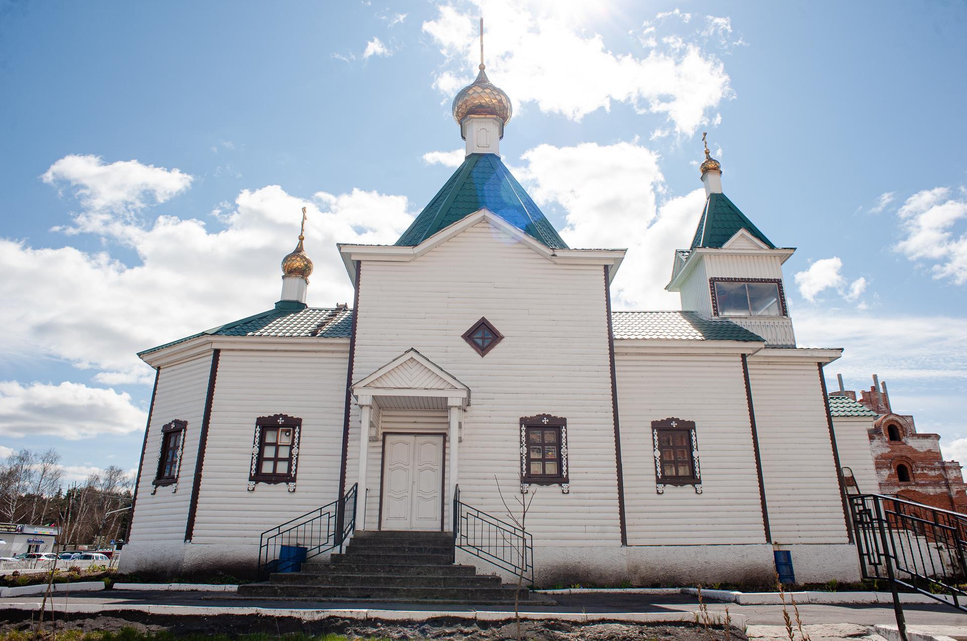 Шатура, Храм новомучеников и исповедников шатурских