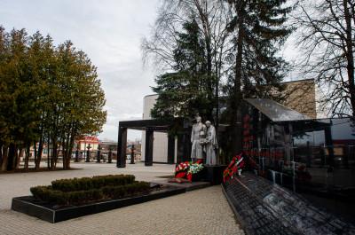Шаховская, мемориал ВОВ