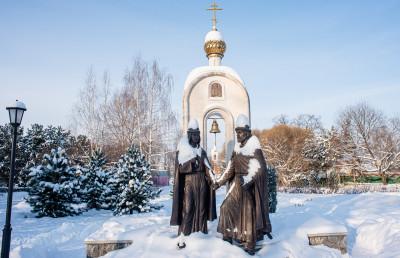 Дмитров, Дмитровский кремль, Петр и Феврония