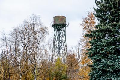 Лобня, Научный городок, водонапрная башня Шухова