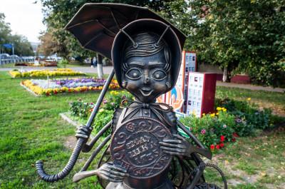 Скульптурная композиция Муха-Цокотуха в Раменском