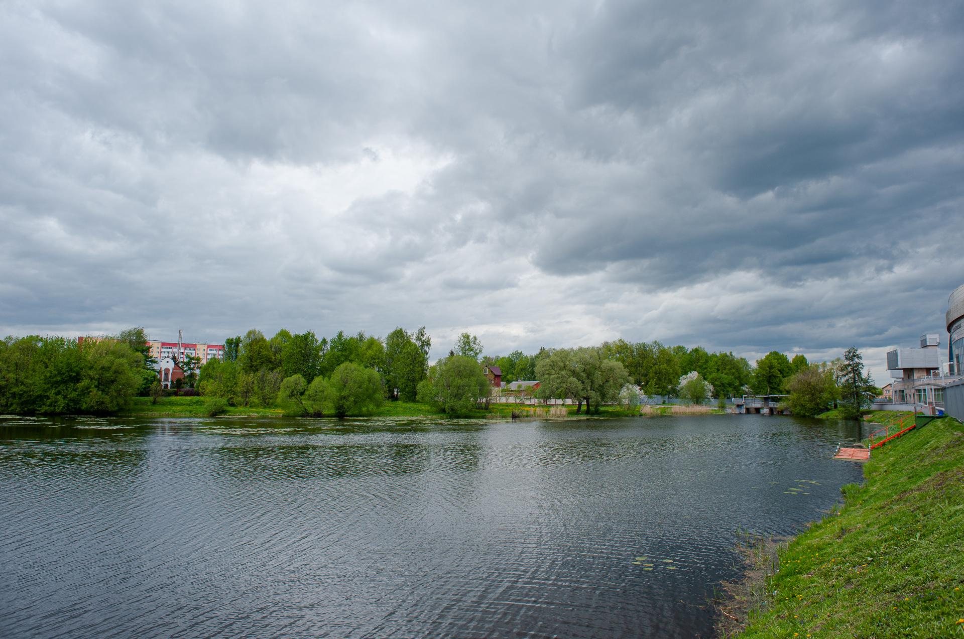 Коломна, Коломенский Кремль, река Коломна