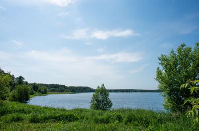 Луховицы, голубые озёра