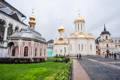 Свято-Троицкая Сергиева Лавра. Троицкий собор