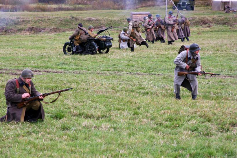 Военно-исторический фестиваль «Москва за нами» на Бородинском поле