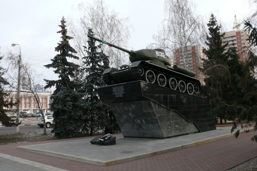 Мемориал 44-й и 58-й танковых бригад в Чехове