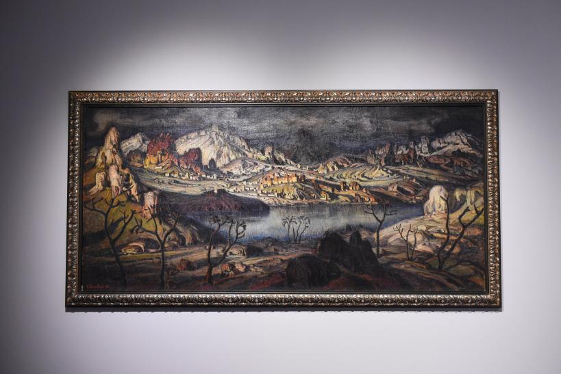 Константин Федорович Богаевский «Киммерийская область», 1910 год